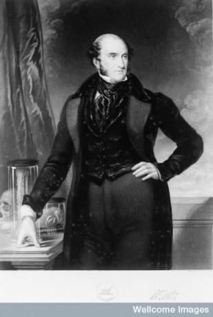 Robert Liston. Mezzotint by W. O. Geller, 1841, after W. Bagg.