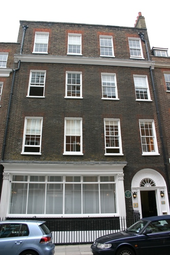 The Metropolitan Ear Institution at 29 Sackville St.