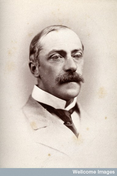 Sir William Bartlett Dalby. Photograph by G. Jerrard, 1881,