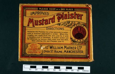 Example of early 20th century plaster used for blistering. Hunterian Museum Collection.
