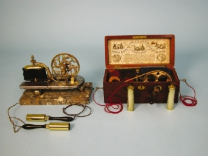 Davis & Kidder's patented Magneto-Electric Machine, c.1880.
